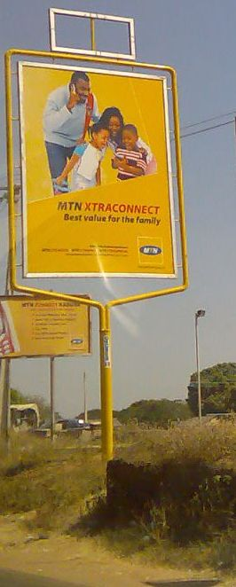 Advertisement for mobile phone operators 02