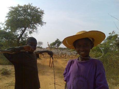 Fulani boys
