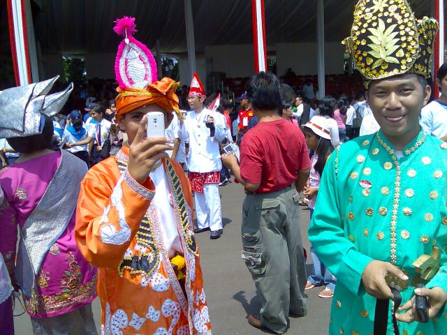 Ethnic and national identities at Istana Negara (2)